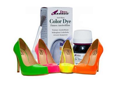tintes para zapatos