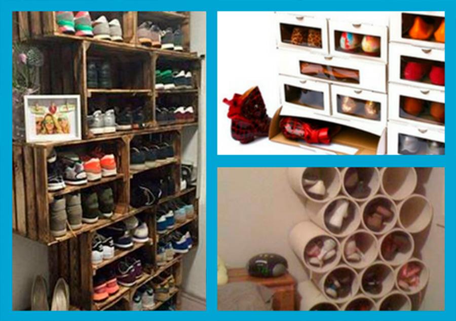 cómo guardar zapatos