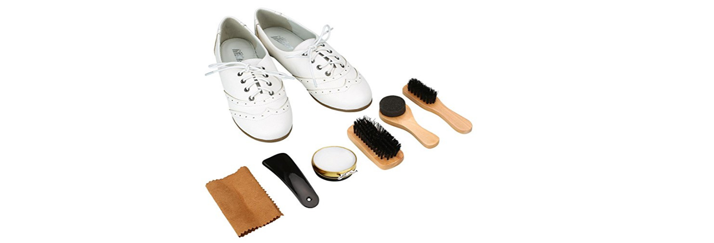 Kit limpieza calzado con betún