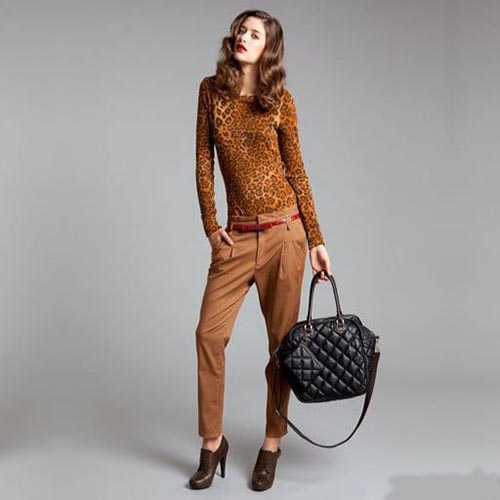Look estampado leopardo