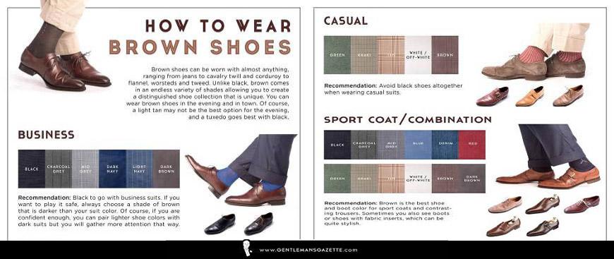 Cómo llevar traje con zapatos