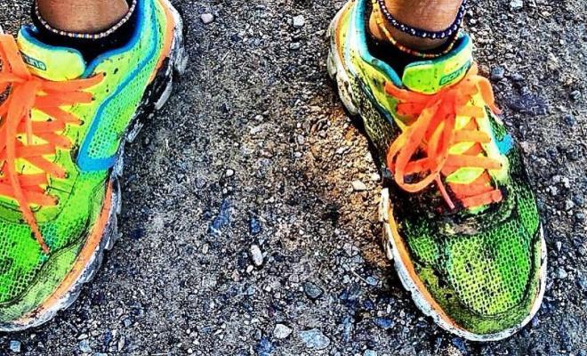 como lavar zapatillas de running