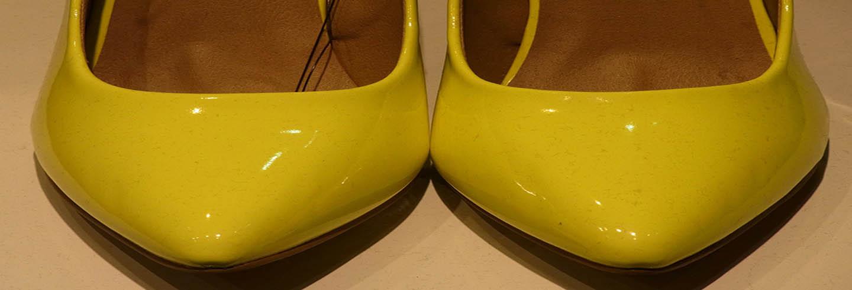 limpiar calzado de charol