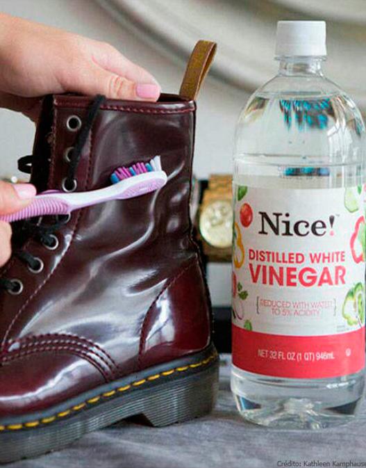 limpiar manchas zapatos de charol
