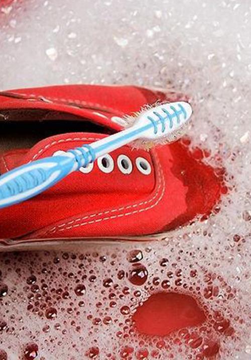 limpiar calzado de tela