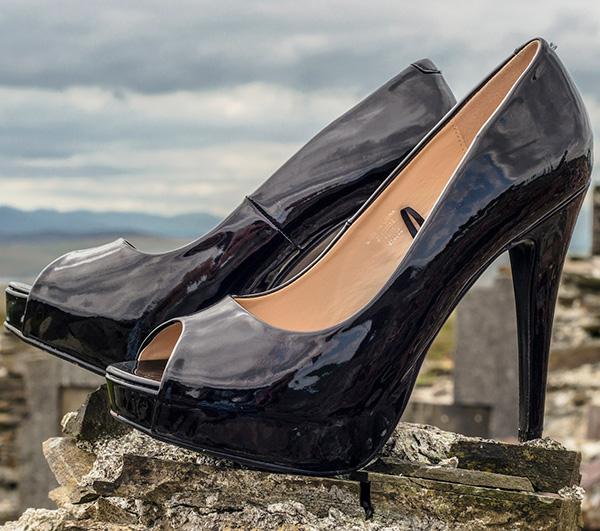 calzado de charol mujer