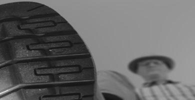 suela de goma en calzado