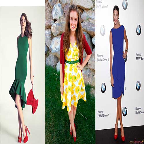 Como combinar zapatos rojos mujer
