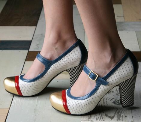 zapatos cómodos de tacón