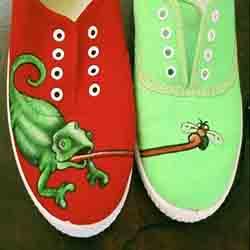 diseño en zapatillas