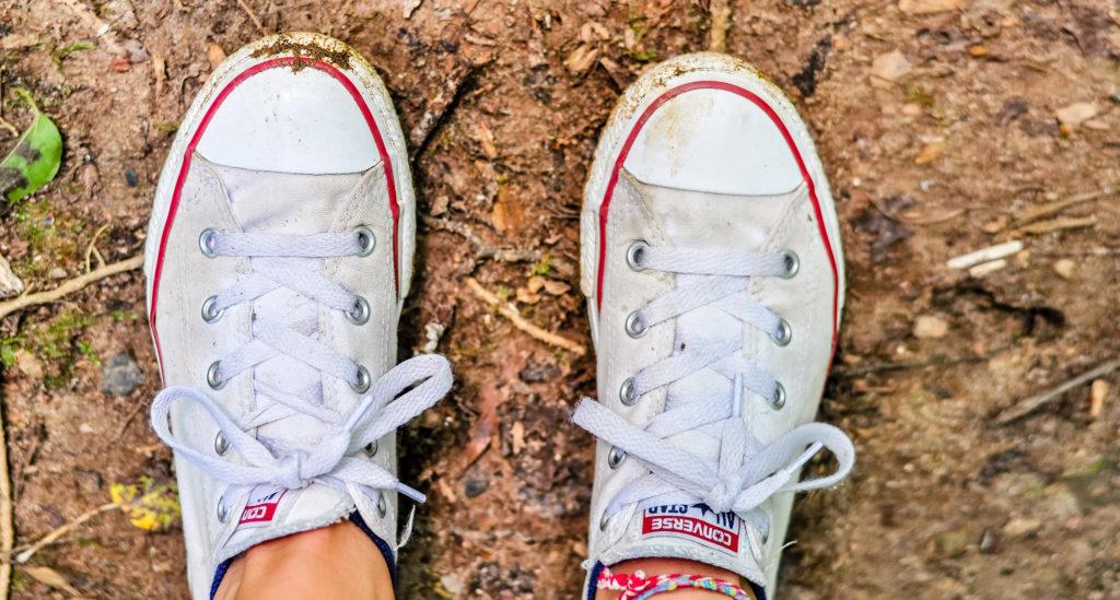 como lavar zapatillas de lona