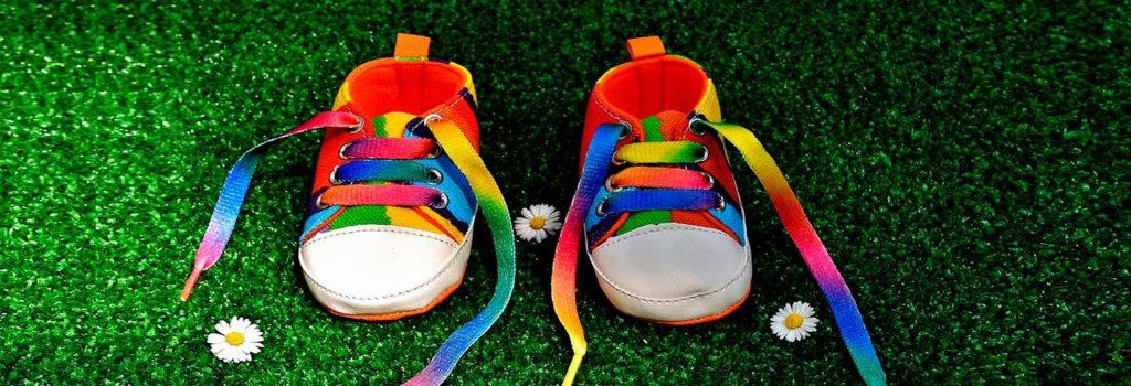 talla de zapatos de bebé