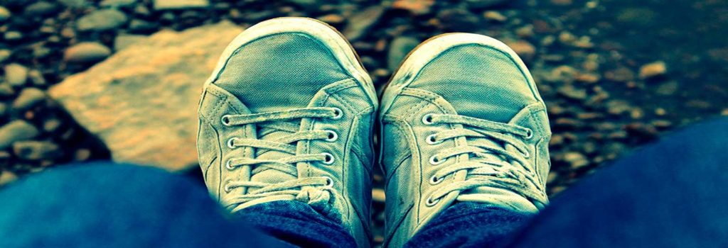 zapatos de mezclilla