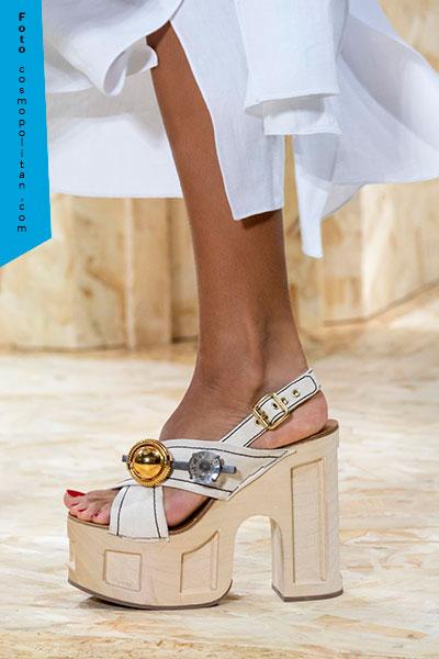 zapatos con plataformas