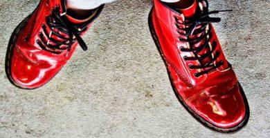 botas de charol